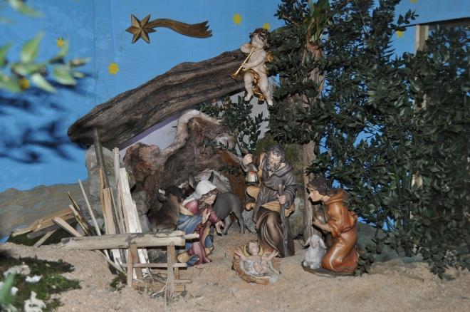 Il presepe nella chiesa di Ponzate