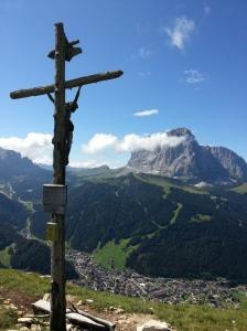 Crocifisso sulle Steviola, in Val Gardena