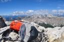 Panorama dalla vetta del Piz da Lech