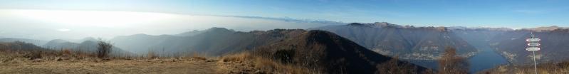 Dal Monte Boletto, la nebbia trascolora nella trasparenza...