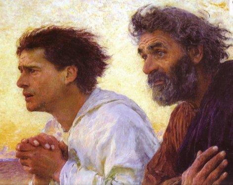 Pietro-e-Giovanni-corrono-al-Sepolcro-vuoto-E.-Burnand-1850-1921