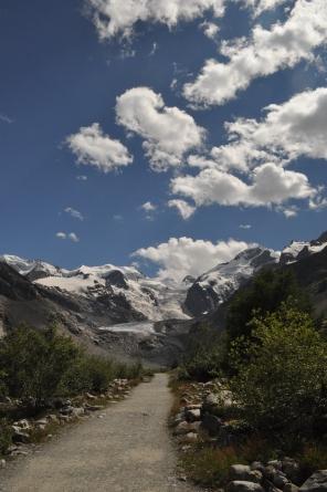 Verso il ghiacciaio del Morterasc
